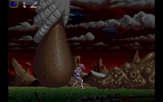 Amiga end of game boss screen.