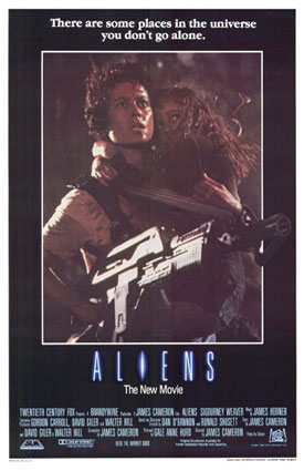Aliens movie poster.