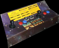 Super Volleyball control panel.
