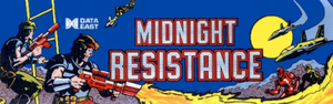 Midnight Resistance marquee.
