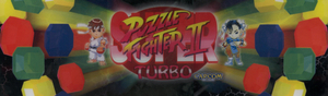 Super Puzzle Fighter 2 Turbo marquee.