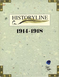 History Line 1914-1918 box scan