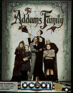 The Addams Family box scan