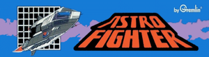 Astro Fighter marquee.