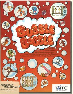 Bubble Bobble box scan