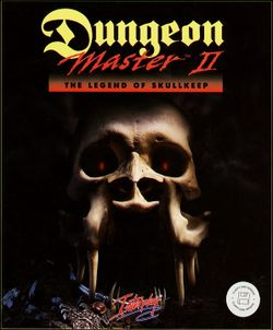 Dungeon Master II box scan