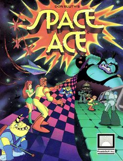 Space Ace Demo box scan