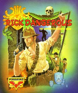 Rick Dangerous box scan