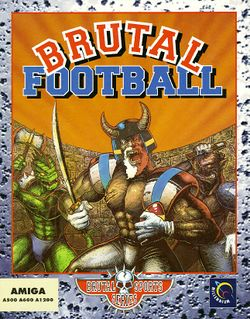 Brutal Football box scan
