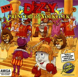 Dizzy Prince of the Yolkfolk box scan