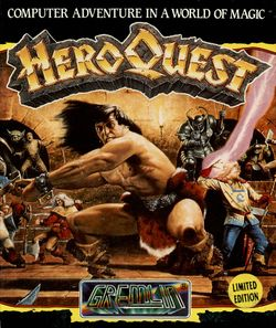 Hero Quest box scan
