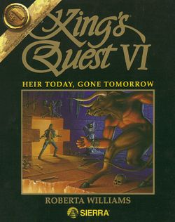 King's Quest VI box scan
