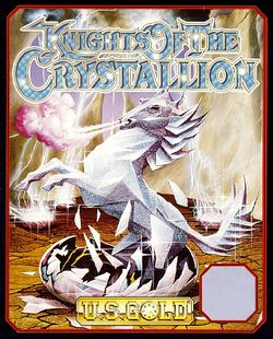 Knights of the Crystallion box scan