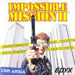 Impossible Mission II box scan