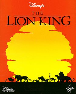 The Lion King box scan