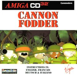 Cannon Fodder (CD³²) box scan