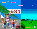 Out Run Arcade and ZX Spectrum combined