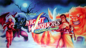 Night Warriors marquee.