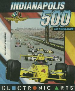 Indianapolis 500 box scan