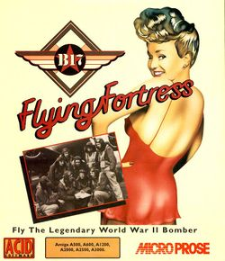 B17 Flying Fortress box scan