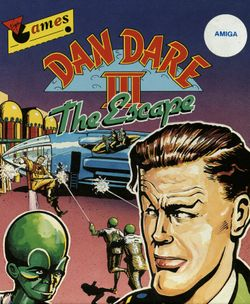 Dan Dare III box scan