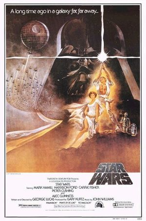 Star Wars: Episode IV - A New Hope movie poster.