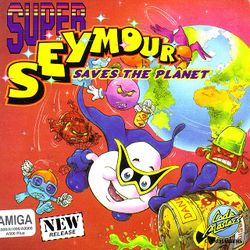 Super Seymour Saves the Planet box scan