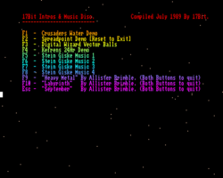 17BIT Intros and Music Disc screenshot