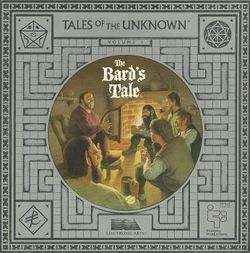 The Bard's Tale box scan