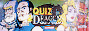 Quiz & Dragons marquee.