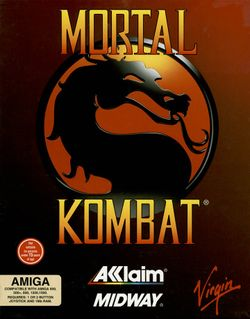 Mortal Kombat box scan