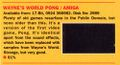 Wayne's World Pong review (Computer and Video Games) (June 1994, Issue 151, Page 93).jpg