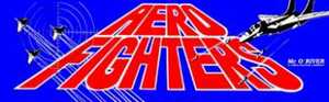 Aero Fighters marquee.