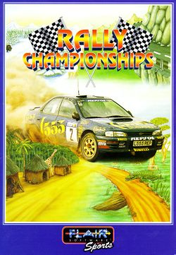 Rally Championships box scan