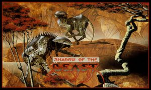 Shadow Of The Beast box cover.