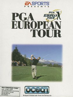 PGA European Tour box scan