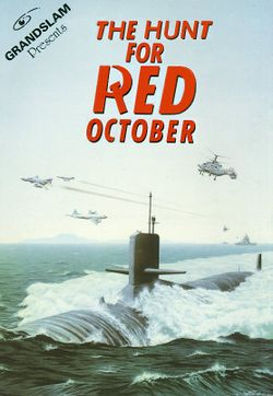 The Hunt for Red October box scan