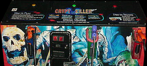 Crypt Killer control panel.