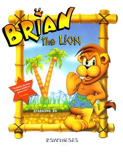 Brian The Lion box scan