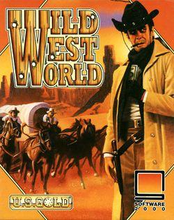 Wild West World box scan
