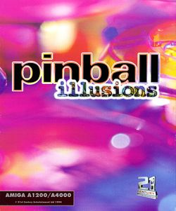Pinball Illusions box scan