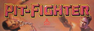 Pit-Fighter marquee.