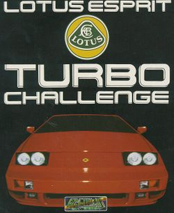 Lotus Esprit Turbo Challenge box scan