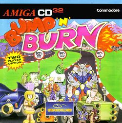 Bump 'n' Burn (CD³²) box scan