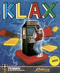 Klax box scan