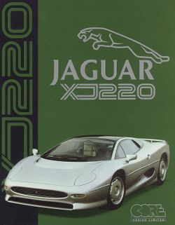 Jaguar XJ220 box scan