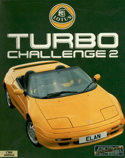 Lotus Turbo Challenge 2 box scan