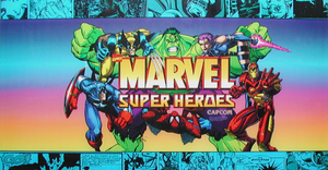 Marvel Super Heroes marquee.
