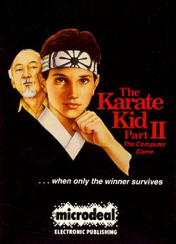 The Karate Kid Part II box scan