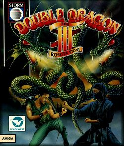 Double Dragon III box scan